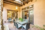Outdoor Dining Area off of Kitchen & Living Room